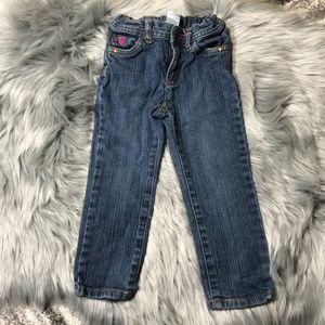 Carter's 3T girl jeans with hearts